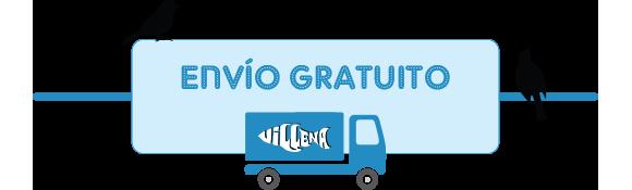 Envío gratuito a tu casa en pajarería Villena